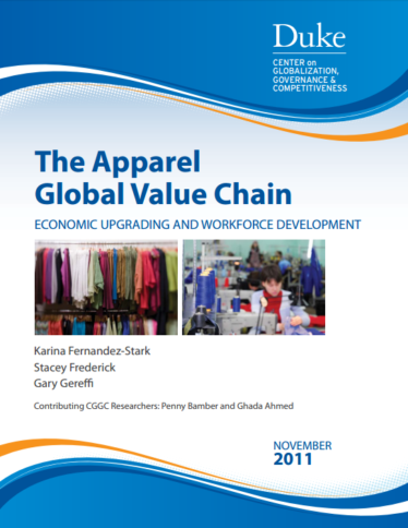 The apparel global value chain